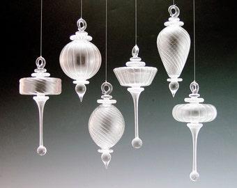 Optical Glass Ornament