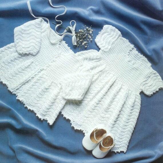 18c450639 SALE 50 PENCE Vintage Knitting Pattern Booklet PDF Baby