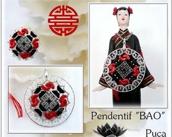 "Schéma pendentif ""Bao"""
