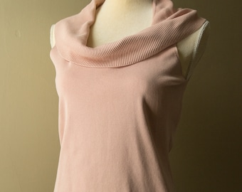 Vintage Pink Scoop Neck Tank