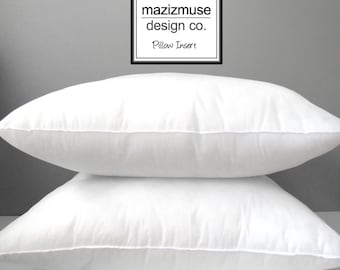 Poly-Fill Insert 26 inch Pillow Insert - Outdoor Pillow Form - Hypoallergenic - Synthetic - Purchase with Mazizmuse Pillow Covers Only