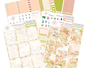 Planner Sticker Kit / Paris / Planner Sticker / Erin Condren Planner Stickers / Weekly Sticker Kit / WK-43