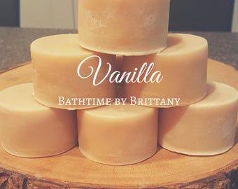Vanilla Hair Care | READY TO SHIP | Handmade | Shampoo Bar | Conditioner Bar | Solid Shampoo | Solid Conditioner | Travel Shampoo