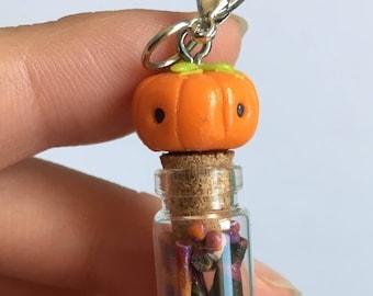 Pumpkin Candy Bottle