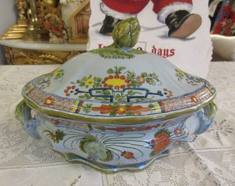 ITALY CASSEROLE DISH with Lid