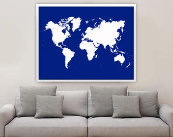 World map poster adventure awaits world map travel map giant world map poster world map poster custom color world map home decor world map art world map huge map choose your own color gumiabroncs Choice Image