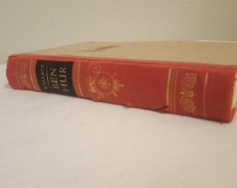 ON SALE, Vintage Book, Ben Hur, Lewis Wallace, Book in GERMAN, German Novl, Ben Hur in German, Copyright 1959, Decorative Book, Rare Book