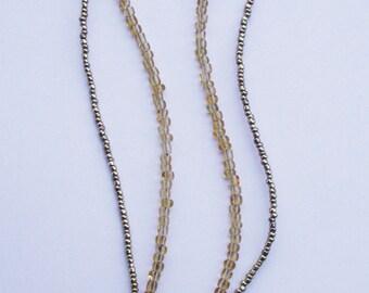 Murano Millifiori Glass Pendant Necklace