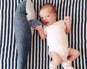 Whale Toy - Nautical Baby Shower Gift - Nautical Nursery - Soft Toys - Blue Whale Plush - Stuffed Toy - Ocean Nursery - Birthday Gift