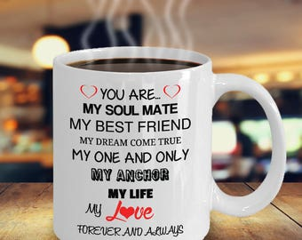 Ill Love You Forever Mug True Love Wife Husband Partner Fiance Boyfriend Girlfriend