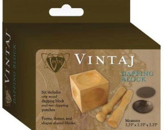 Wood Dapping Block Vintaj Metal Stamping Dapping Punches Dome Discs Vintaj Tools Disc Shaper