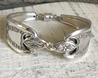 Chunky spoon handle bracelet