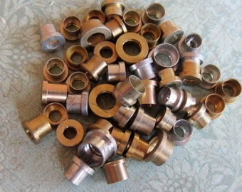 Vintage Brass Clock parts spindles - levers - Robot mix - Levers - Steampunk - Scrapbooking n10