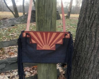 Sunburst Purse