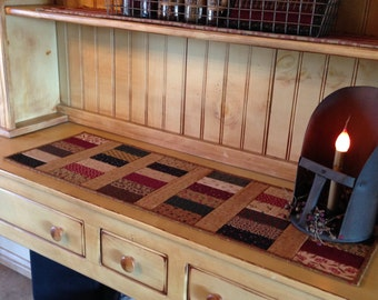 Quilted Table Runner /Country / Primitive  Item #555