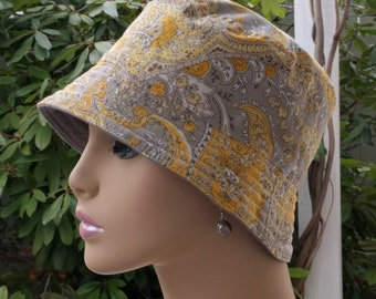 Chemo Hat Bucket Hat Cancer Hat Made in the USA  LARGE