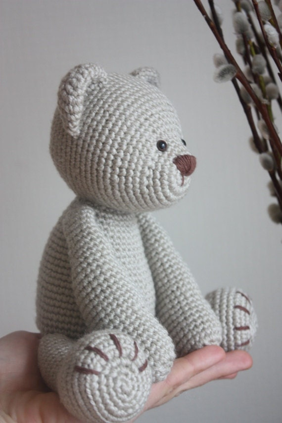 Crochet Amigurumi Teddy Bear Pattern Lucas The Teddy