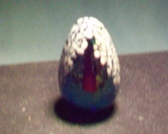 Glass Eye Studio Egg Shaped Paperweight