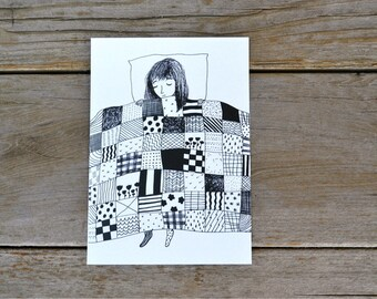 Quilt Print - 5X7