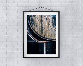 Urban Wall Art - Giclee Print - Iron Works - Sylvo81
