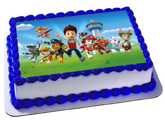 Paw Patrol Sheet Cake Images Cake Recipe