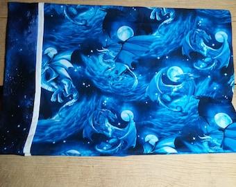 Blue Dragon Dreams Pillowcase