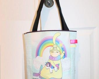 child bag, tote bag