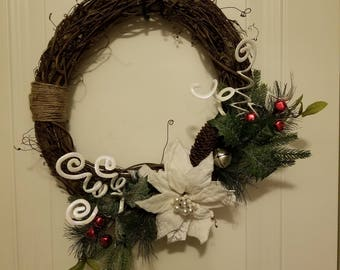 Beautiful Handmade Christmas Wreath