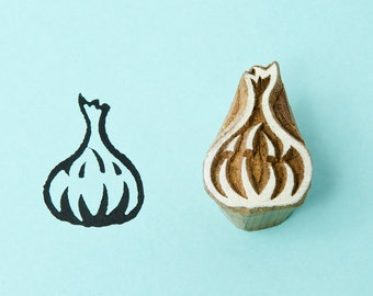 Garlic, Blockwallah stamp