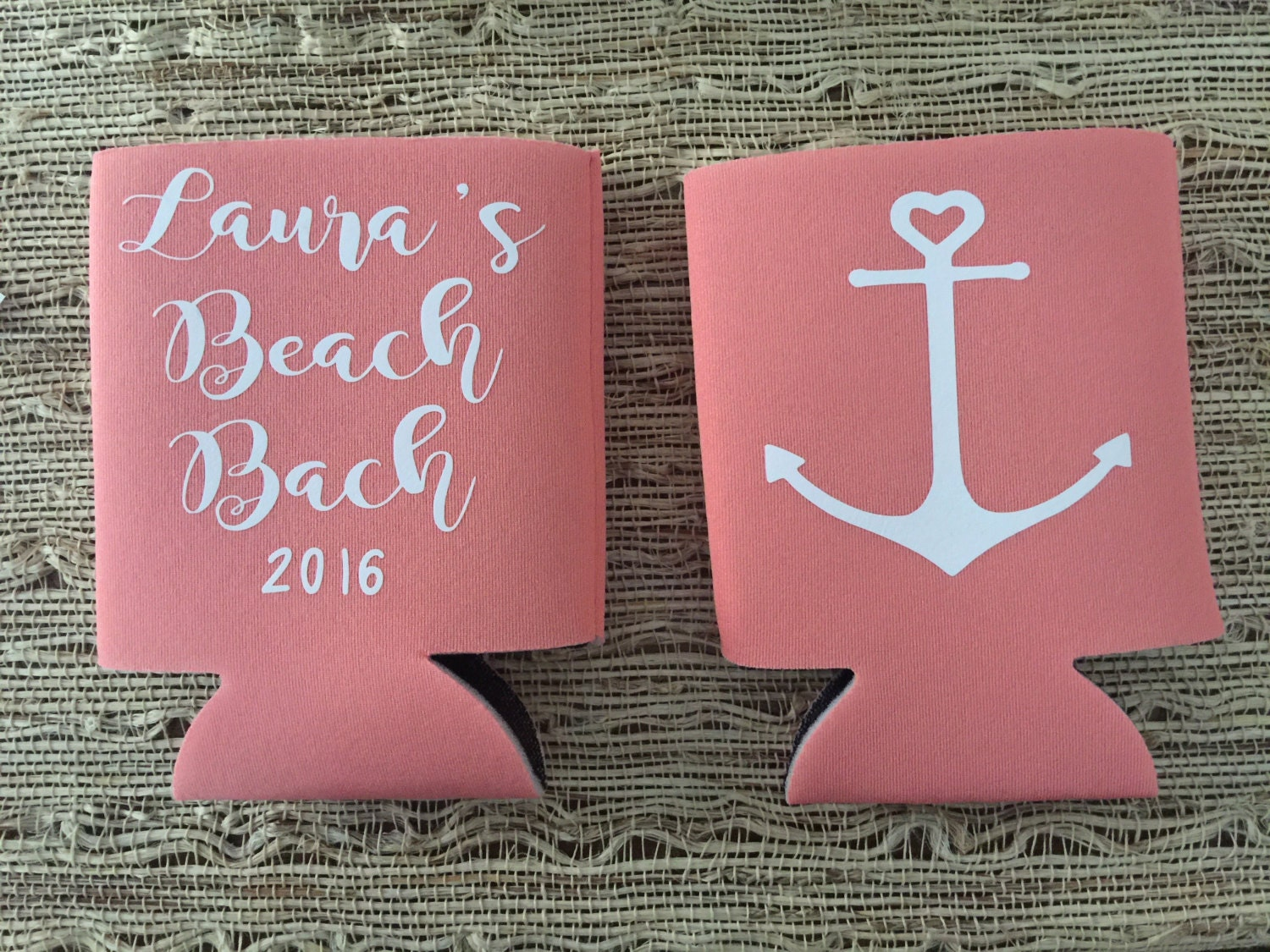 Wedding Anchor Can Coolers wedding favors bacherlorette