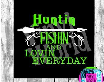 Hunting, Fishing, Cut File, Cricut file, Silhouette file, SVG, DXF, EPS, pdf, png, jpeg, cuttable, designs, vinyl designs, printable