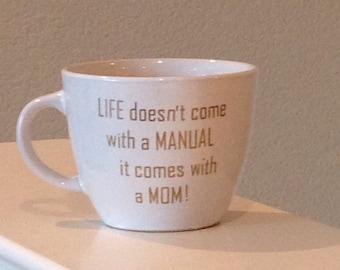 Mom's Mug-Mother's Day Gift-Retiring Mom's Mug-Gift for Teacher-Birthday Gift-Retirement Party Mug-Mom-in-law's Mug-Boss Gift