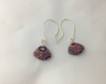 Polymer Clay earrings - 2018 colours