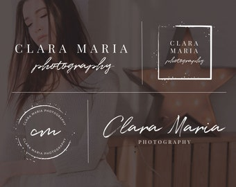 Photography Logo, Logo Design, Logo and Watermark, Business Logo, Branding Kit, Branding Set, Logo for Photographers, Wedding Photography