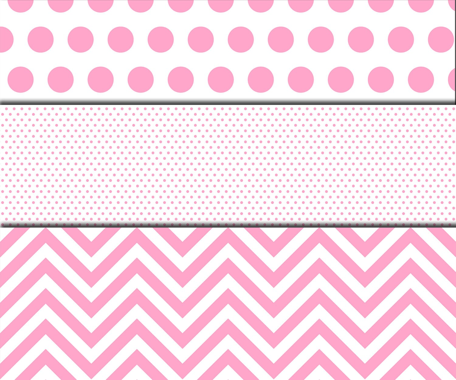 "Pink Polka Dot Wallpaper: Pink Polka Dot Digital Paper: ""POLKA DOT Pattern"