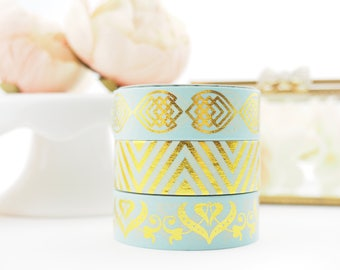 Minted Gold Palace Washi Collection -  from ThePinkRoomCo