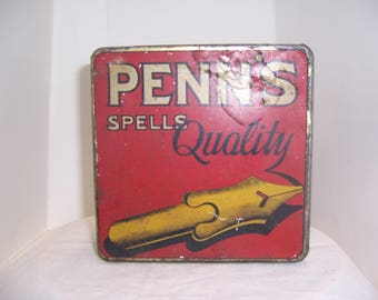 PENN'S TIN BOX