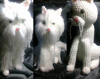 Crochet Cat can be made to look like your kitty
