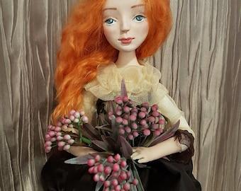 doll, art doll , gift, prezent, designer doll
