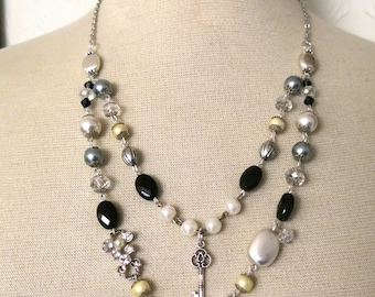 Antique mother of pearl Necklace