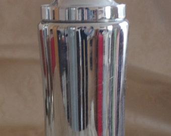 vintage Cocktail Shaker - MUSSBACH - Modernist - patented - Martini Shaker - Barware - Germany - Design - Chrom