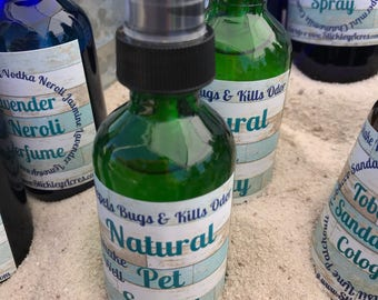 Natural Pet Spray - Essential Oil Spray