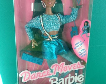 Mattel Dance Moves African American Barbie Doll New in box  Barbie Doll
