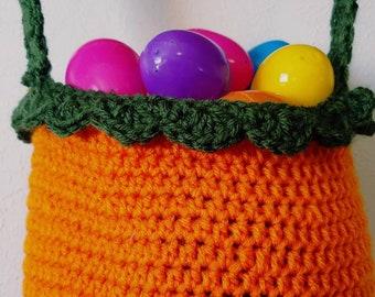 Carrot Top Easter Egg Basket