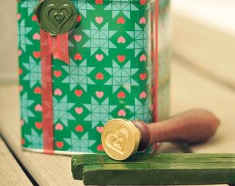Christmas Heart Wax Seal