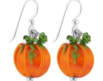 Earrings Kit Pristine Pumpkins with Swarovski® Crystals