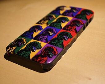 Dinosaur Phone & iPhone Case - iPhone 6 Case - iPhone 6 Plus Case - iPhone 4 Case - iPhone 5 Case - Pop Art - iPhone 6s Case - 6s Plus Case