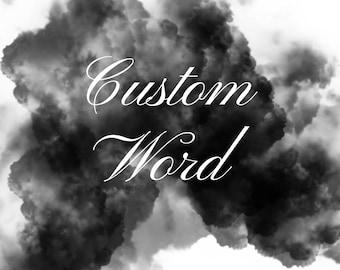 Custom Word Print