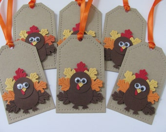 Thanksgiving Gift Tags, Turkey Gift Tags, Thanksgiving Tags, Fall Gift Tags, Turkey Tags, Fall Tags, Thanksgiving Decorations, Autumn Tags