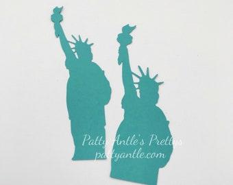 Statue of Liberty Die Cuts, Patriotic Die Cuts, America Die Cuts, USA Die Cuts, Liberty Die Cuts, New York City Die Cuts